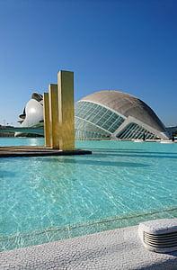 Valencia, muuseum, Art, teadus, arhitektuur, Valencia autonoomne piirkond, Hispaania