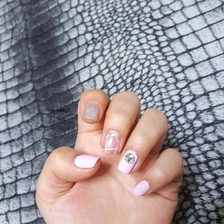 ungles d'art, fotos de mans, les ungles, Art, kyubi, manicura