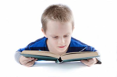 Прочети, книга, Момче, дете, хлапе, студент, Мисля, че