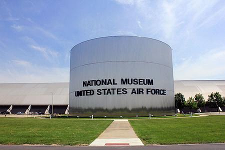 USAF-museum, Ohio, Museum, USA, Architektur, Wahrzeichen, Gebäude