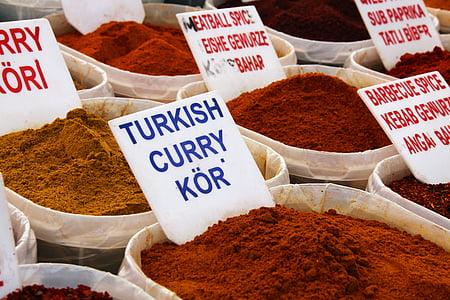 miris, boja, šarene, kuhanje, kuhinje, hrana, biljni