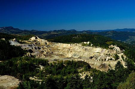 guldgruva, Mine, gruvdrift, industrin, Rock, sten, ekonomin