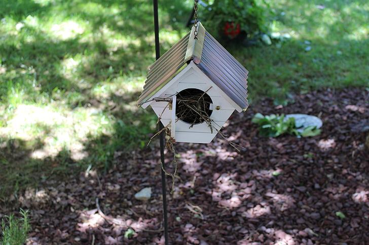 linnunpönttö, Puutarha, Bird house