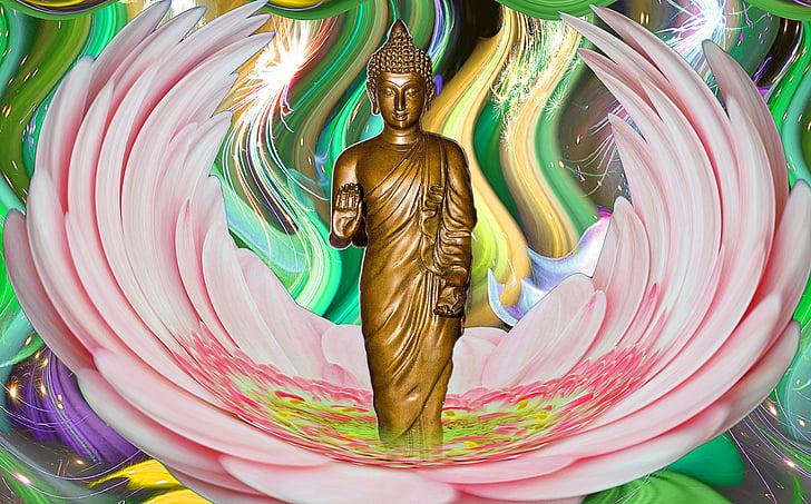 Đức Phật, tinh thần, sáng tạo, tưởng tượng