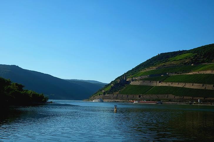 Fotografie gratuită: bacharacher werth, Valea Rinului, Râul