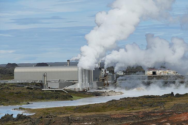 Island, elektráreň, geotermálna energia, geotermálna energia, Geo tepelnej elektrárne, energie, regeneračné