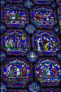 finestra de l'església, Canterbury, Vitrall, Catedral, decoració, patró, arquitectura
