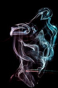 fum, lumina, starea de spirit, culoare, frumos, fum - structura fizică, Rezumat