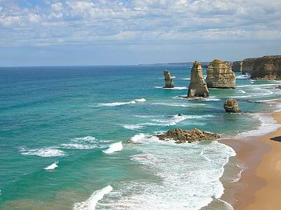 Ocean, Great ocean road, Austraalia, Beach, Vaikse ookeani, Sea, vee