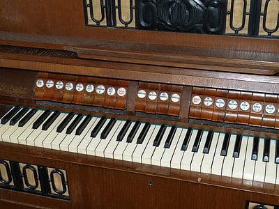 harmonium, instrument, keyboard instrument, music, musical instrument, church music, keyboard