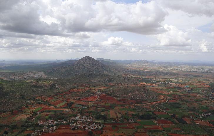 Nandi hills, paisatge, Dècan, Karnataka, l'Índia