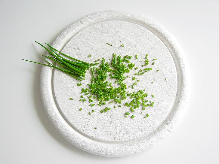 verdures, cibulet, bodegons, aliments, frescor, Orgànica, vegetals