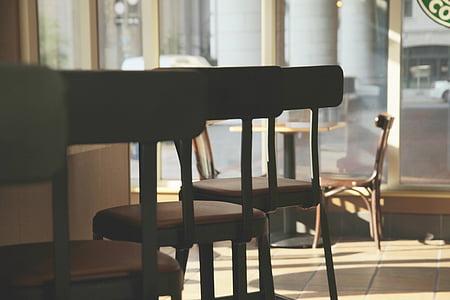 focus, tilt, photo, chairs, coffee, shopping, furniture
