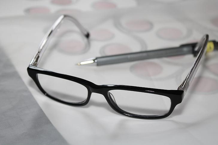 ulleres, ulleres de lectura, estudi, aprendre, estudiant, l'escola, ajuda de lectura