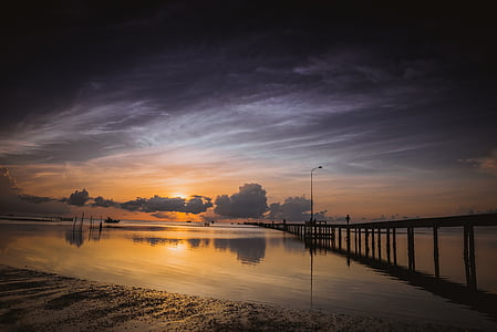 ham ninh, phu quoc, vietnam, island, morning, sunrise, seascape