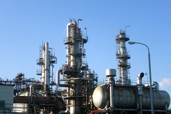 mie prefecture, oil, factory, manufacturing, plant, pipe, tank