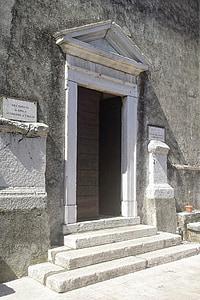 porta, Portuària, l'església, Itàlia, Llac de garda, edifici històric, arquitectura