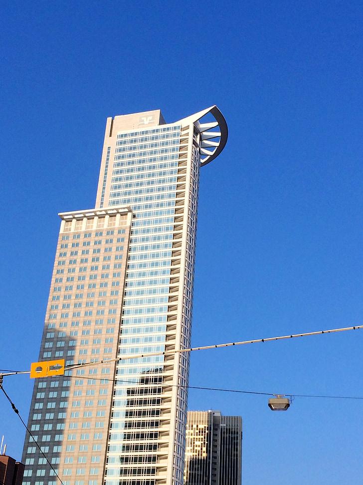 high-rise frankfurt, frankfurt, city, architecture, building, skyline, modern