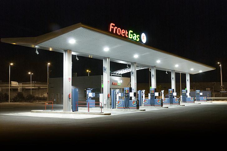 FROET gaz, station d'essence, essence, remise, professionnel