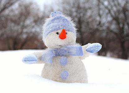 om de zapada, zăpadă, Ajunul Anului Nou, capac, iarna, Crăciun, felicitare