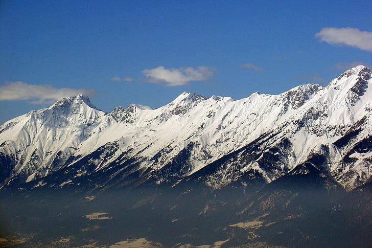 muntanyes, alpí, l'hivern, neu, postkartenmotiv, imatge del calendari, dramàtica