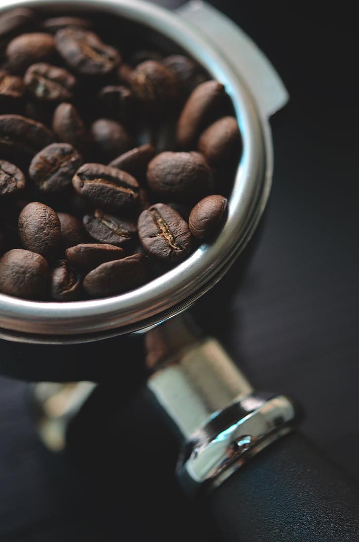 aroma de, aromàtics, begudes, bol, esmorzar, cafeïna, close-up