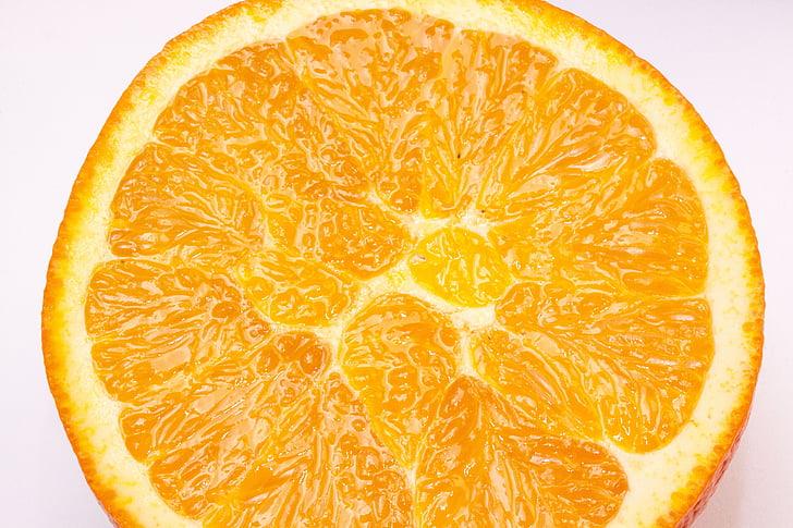 Orange, pupok, Bahia orange, Citrus sinensis, citrusové plody, ovocie, vitamíny
