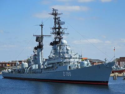 destroyer, navy, warship, ship, military, nautical Vessel, harbor