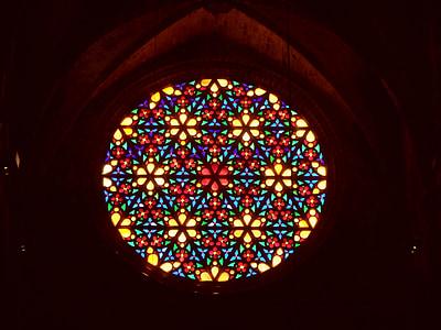 finestra de l'església, colors, l'església, finestra de vidre, vidre, finestra, color