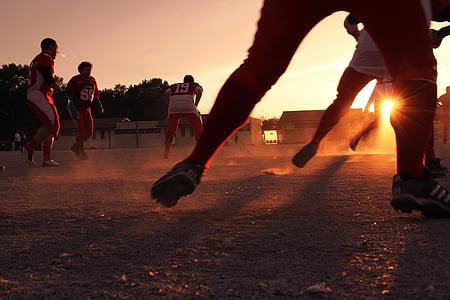 fotboll, Sport, fotboll, spelare, team, lagsporter, fotboll