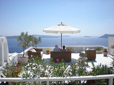 Santorini, Grčki otok, Grčka, marinac, Caldera, Oia