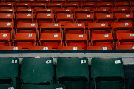 seating, chair, seats, stadium, empty, auditorium, entertainment