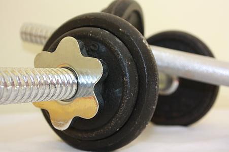 fitnesa, trenažieru zāle, uzdevums, atbilst, treniņa, veselības, Sports