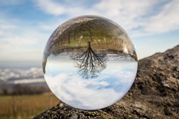 Стеклянный шар, стекло, мяч, о, красочные, прозрачный, мрамор