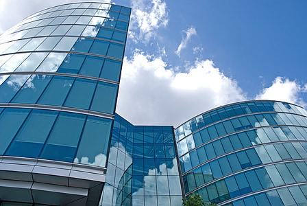 London, City, hoone, arhitektuur, kaasaegne, pilvelõhkuja, Düsseldorfi kesklinn