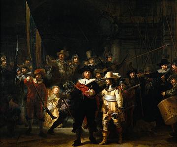 โรต์, จิตรกร, ศิลปิน, นาฬิกากลางคืน, ภาพวาดสีน้ำมัน, ผืนผ้าใบ, ภาพวาด