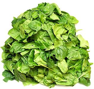 spināti, dārzeņi, zaļa, uzturs, vitamīnu, vegāns, veselīgi