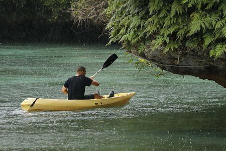 kayak, beach, resort, island, travel, sea, water
