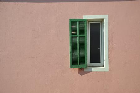 Marseille, Provence, Lõuna-Prantsusmaal, Prantsusmaa, akna, paani, fassaad