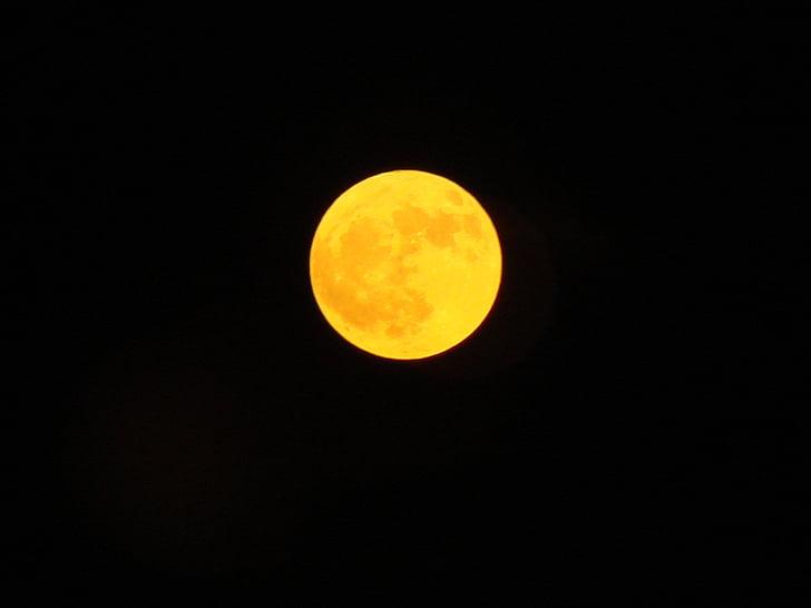 Lluna, Lluna ambre, Harvest moon