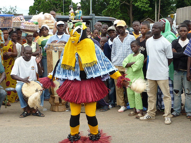 africa, character, dancer