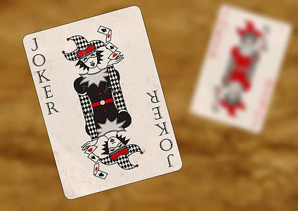 Joker, piros, fekete, szerencsejáték, szerencse, játék, profit