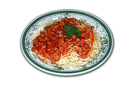 spagetid, süüa, toidu, toitumine, feed, süüa, kokk