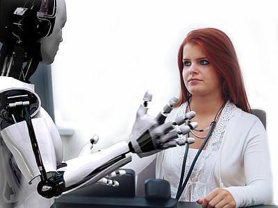 metge, Consultoria, Horari d'oficina, temps, robot, foto-muntatge