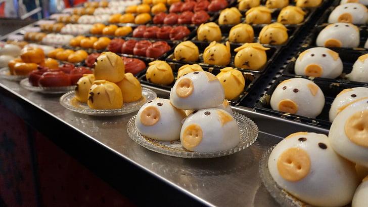 甜点, 动物图, 美食, 味道, 美味