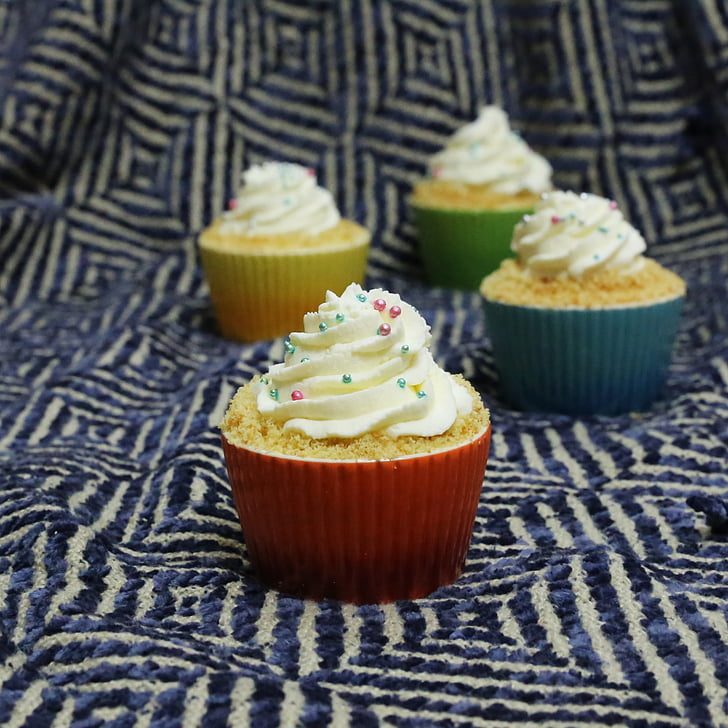 pastelitos (cupcakes), Magdalena, pastel, hermoso pastel, cupcakes muy, rouge de TAPI