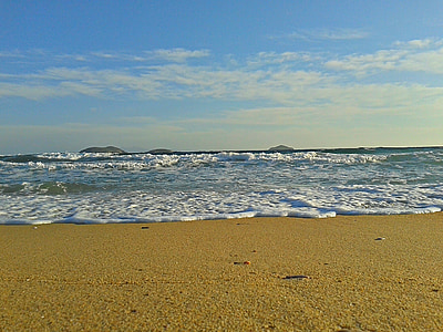 mar, Playa, arena, arena, Costa, Andros, Isla