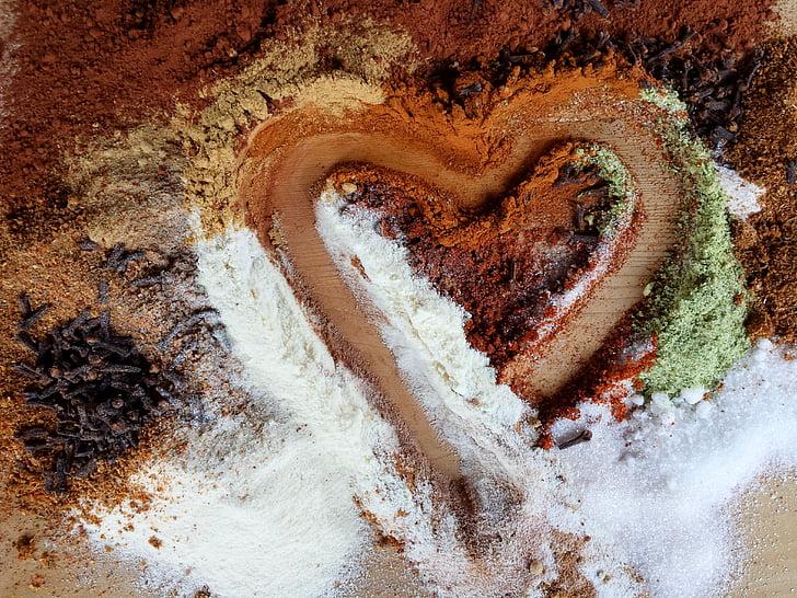 südame, Armastus, tunne, Ystävänpäivä, nelk, vürtsid, maitsetaimed