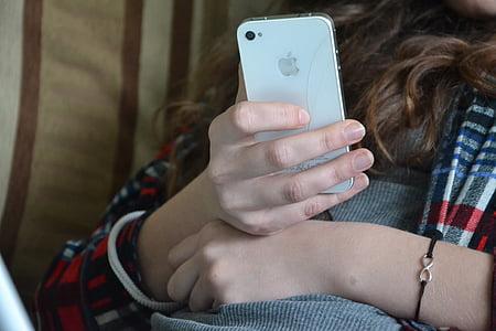 iPhone, телефон, iPhone 4, стільниковий телефон, швидкий, тріщина, пошкодження