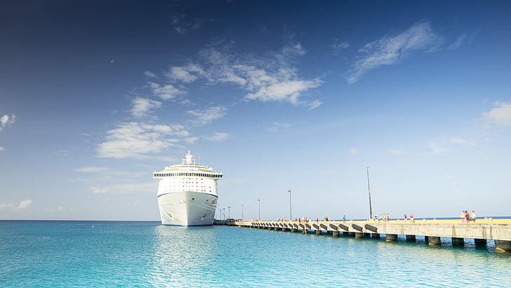 havet, ferie, port, ferie krydstogt, skibet rejser, rejse, nautiske fartøj